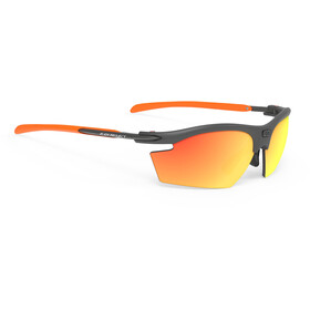 Rudy Project Rydon Okulary rowerowe, graphite - rp optics multilaser orange
